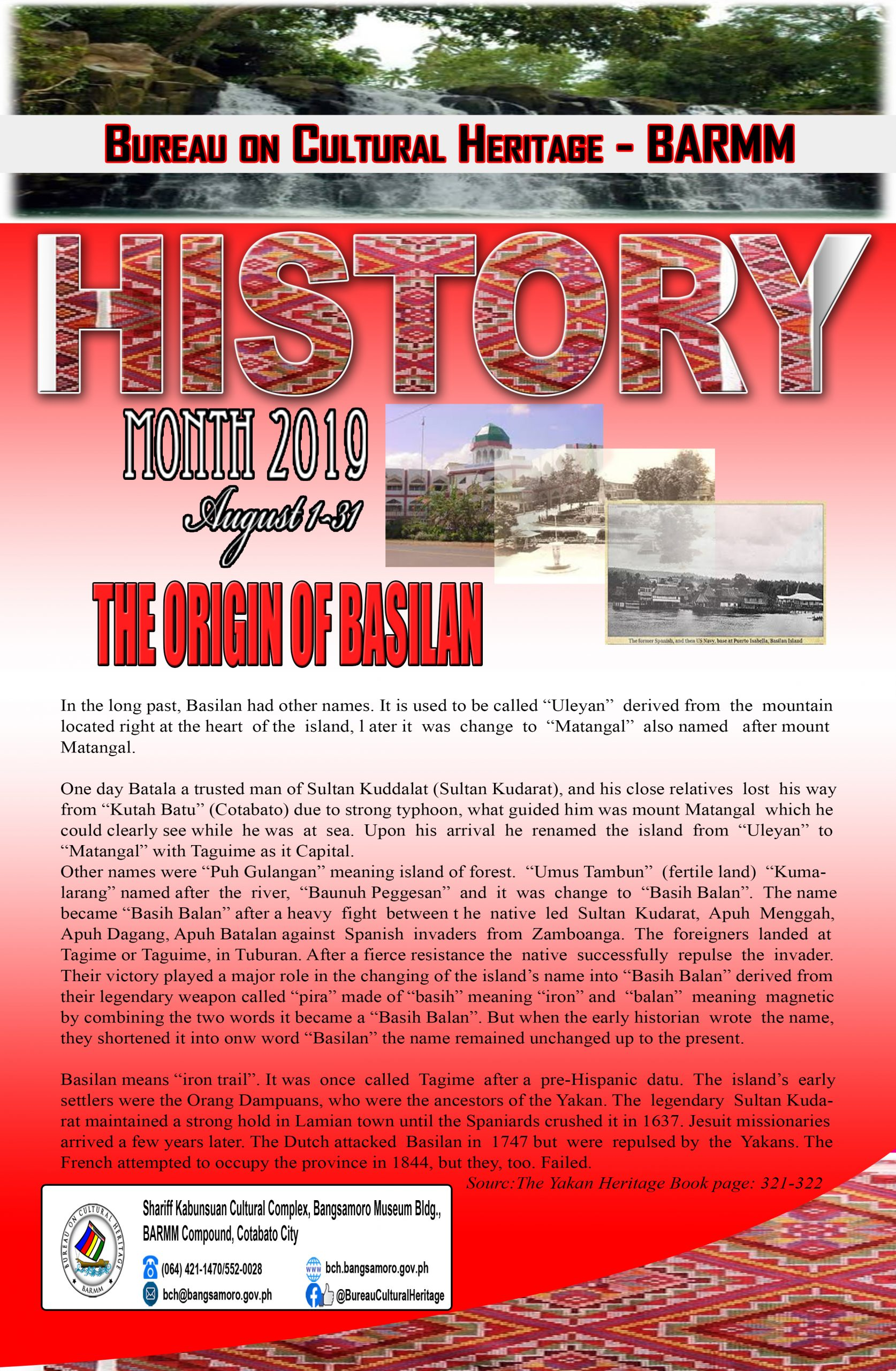 History Month August 2019 Basilan (2)