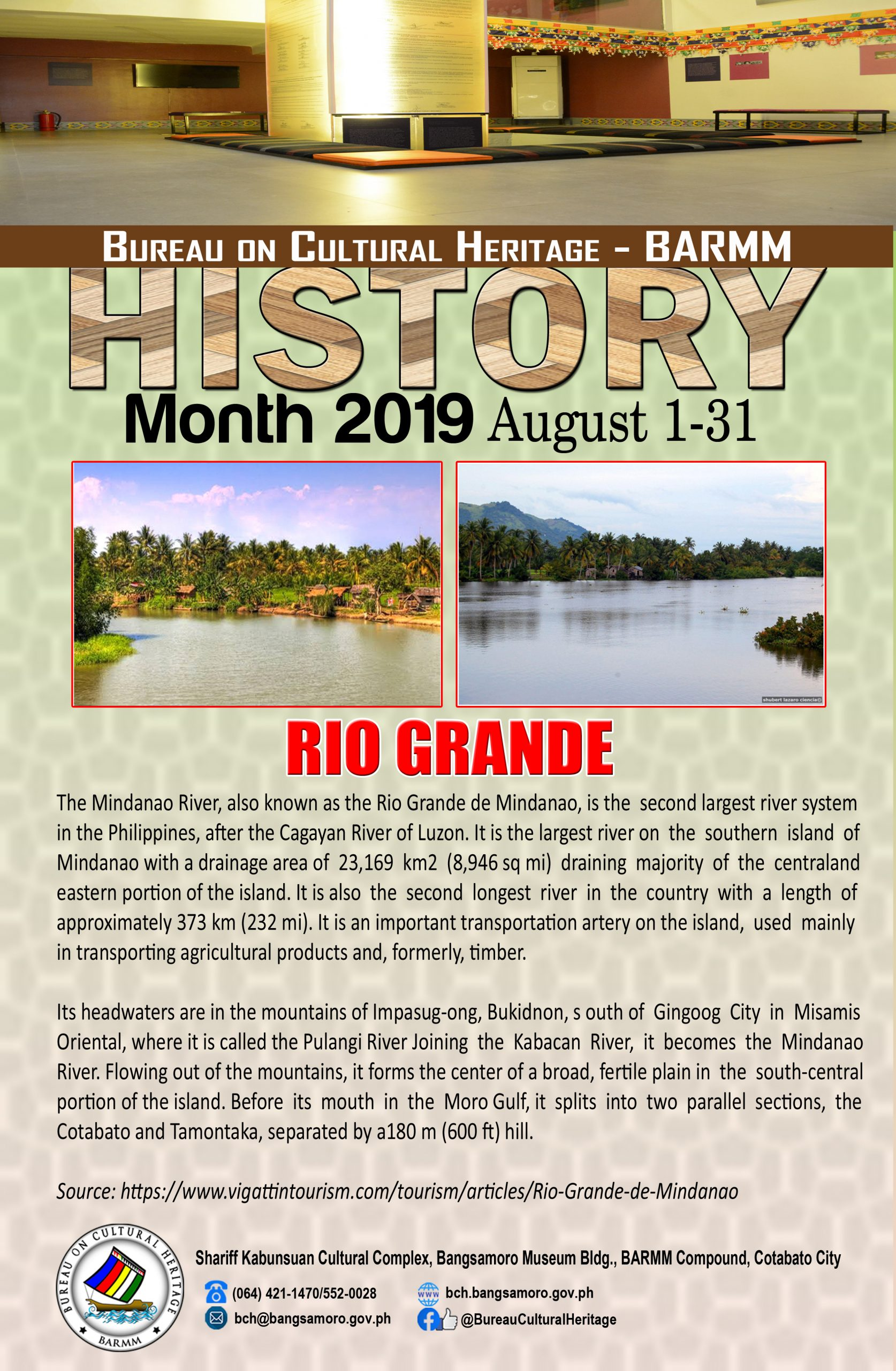 History Month August 2019 Rio Grande
